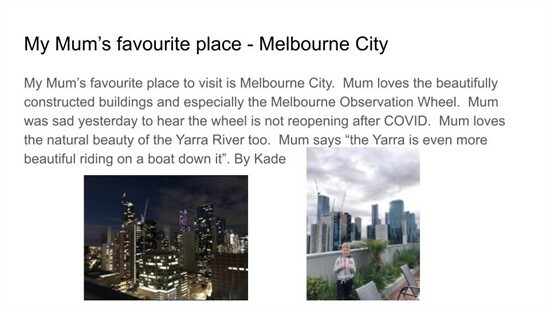 Year 2 News 7 Geography - Favourite Places in Victoria - Kade (1)