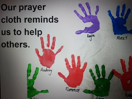 Foundation Prayer Cloth Sharing 3